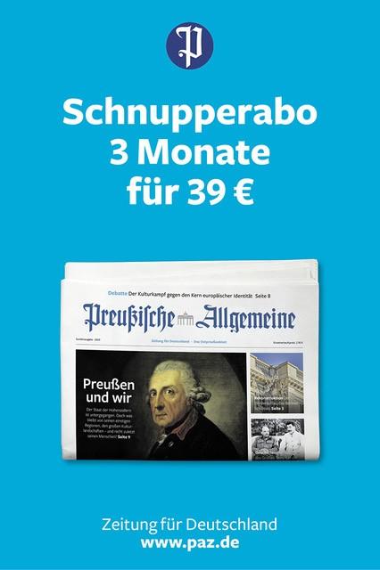 Preußische Allgemeine Abo