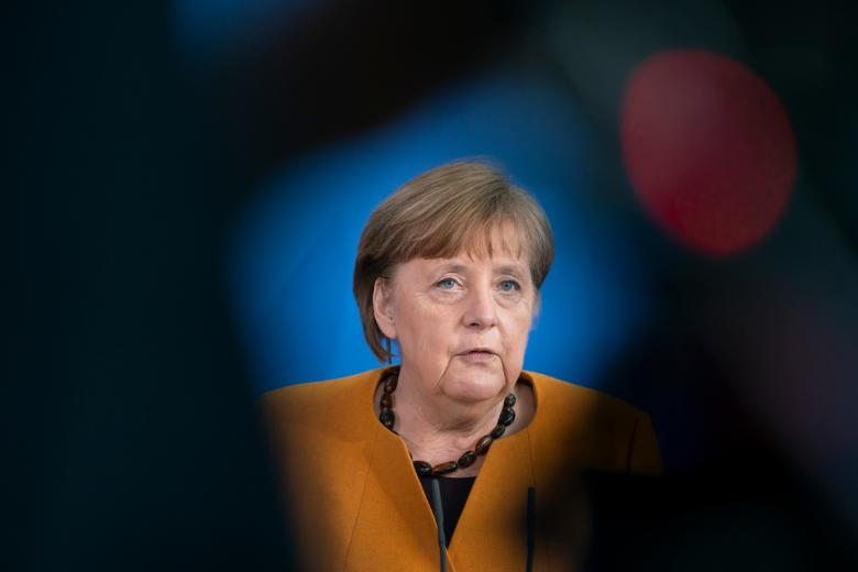 Im Lockdown-Wirrwarr blamiert: Bundeskanzlerin Angela Merkel
