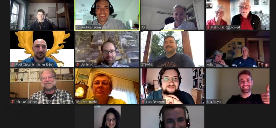 Virtuelle Treffen ermöglichen Teilnahme